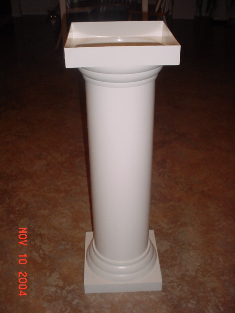 Plastic Roman Decorative Columns