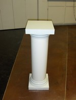 Column with removable Display Stand Top ($12)