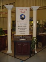 Timber Wolf Cabinets Trade show Booth